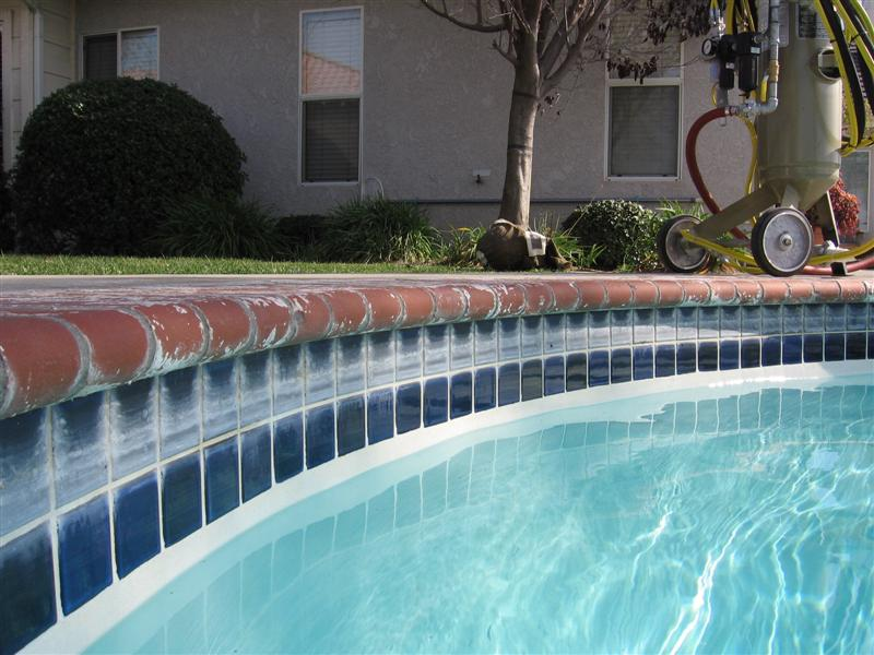Pool tile cleaning for Swimming pool tile pictures